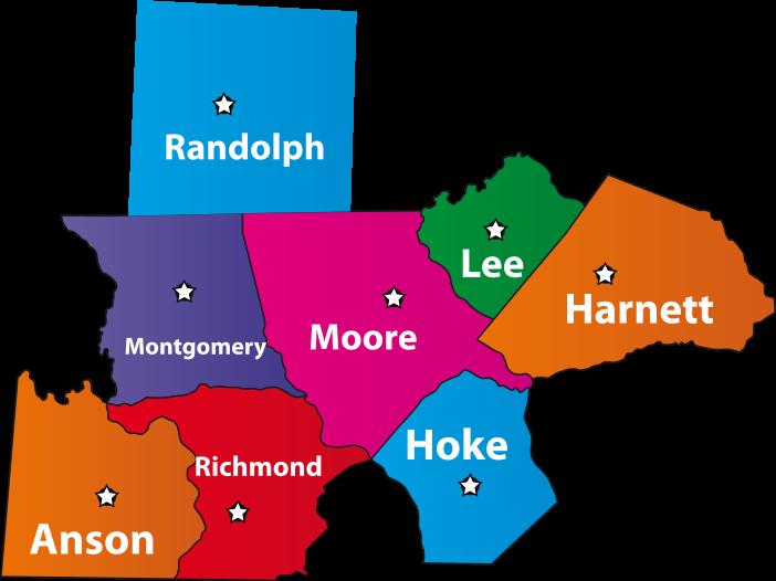 sandhills counties